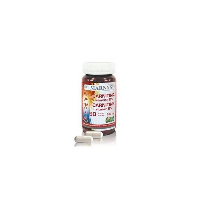 Marnys L-Carnitina + Vitamina B5 90 Cápsulas
