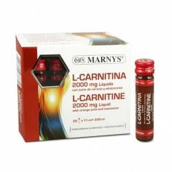Marnys L-Carnitina 2000  20 Ampollas