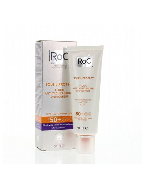 Roc Soleil-Protect Fluido Antimanchas SPF50+