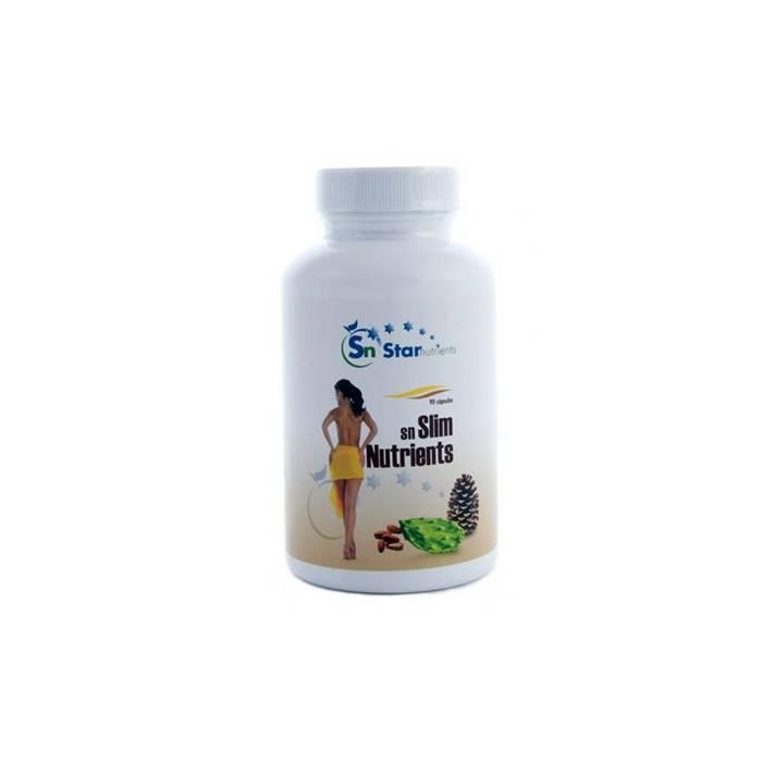 Slim Nutrients 90 Cápsulas