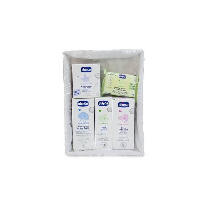 Chicco Canastilla Cosmetica Baby Moments 5 Productos