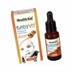 Health Aid BabyVit Multivitaminico 25 Ml.