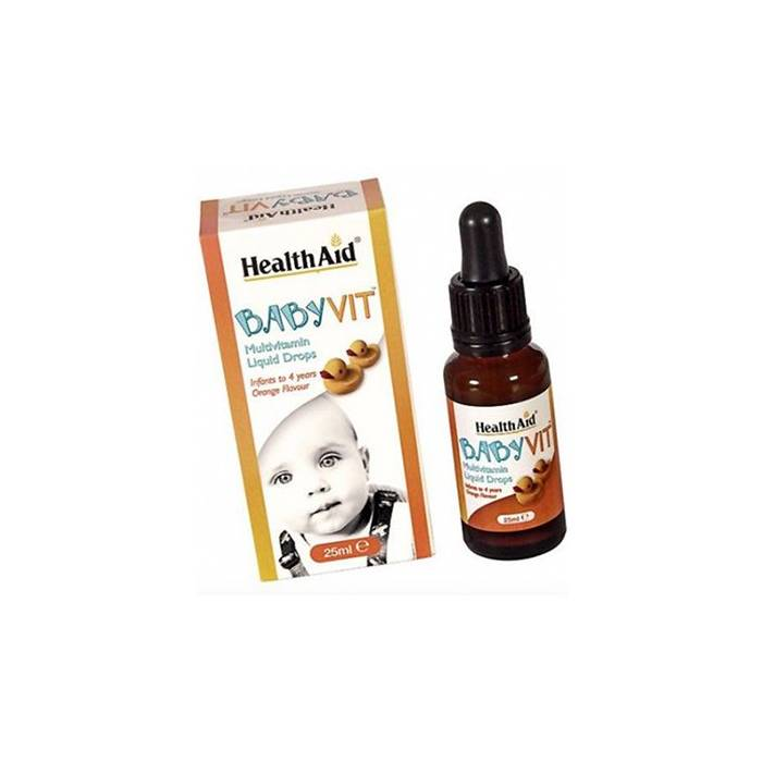 Health Aid BabyVit Multivitaminico 25 Ml.