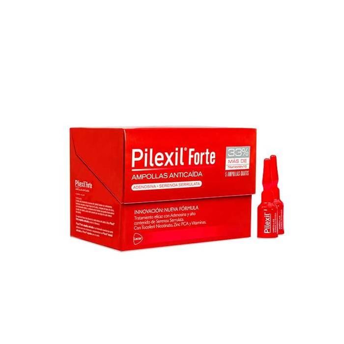 Pilexil Forte 20 Ampollas Anticaída