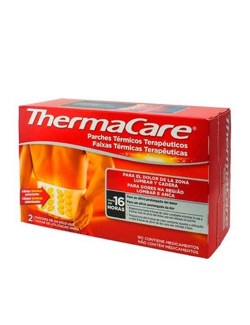 Thermacare Parches Térmicos Zona Lumbar y Cadera 2ud
