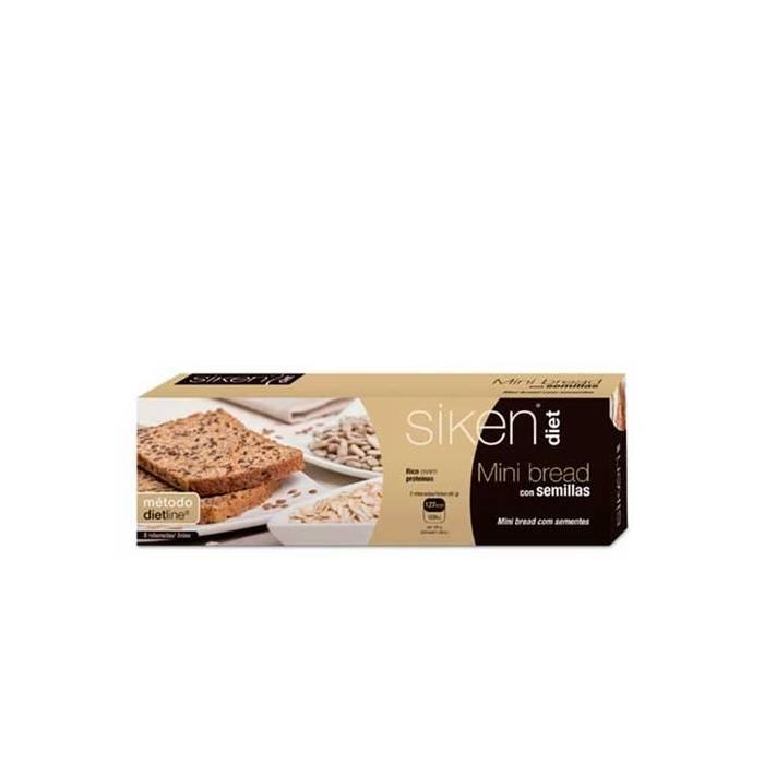 Siken Diet Mini Bread con Semillas