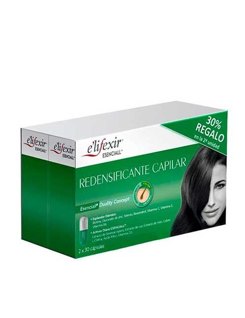 Elifexir Redensificante Capilar Duplo 30+30 Cápsulas