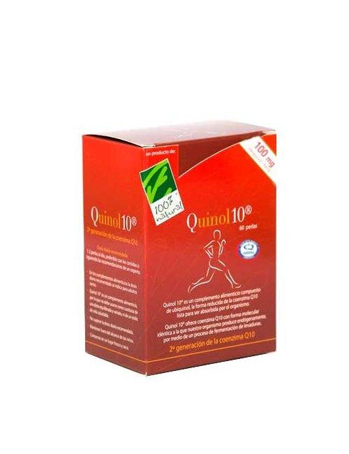 100% Natural Quinol 10 100mg 60 Perlas