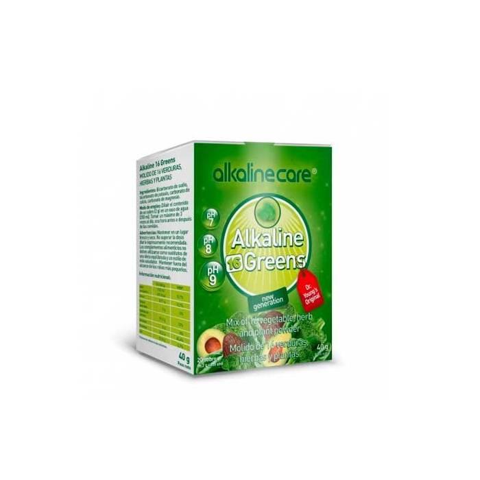 Alkaline Care 16 Greens Sobres