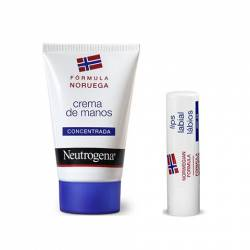Neutrogena Crema Manos 50 Ml Pack Oferta Labios