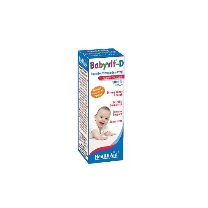 Health Aid Babyvit-D Gotas 50 Ml