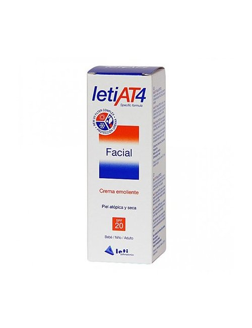 Leti AT4 Crema Facial SPF 20 50 Ml.