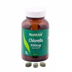 Alga Chlorella 550mg. 60 Comprimidos Health Aid