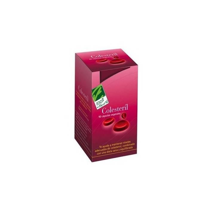100% Natural Colesteril 90 Capsulas