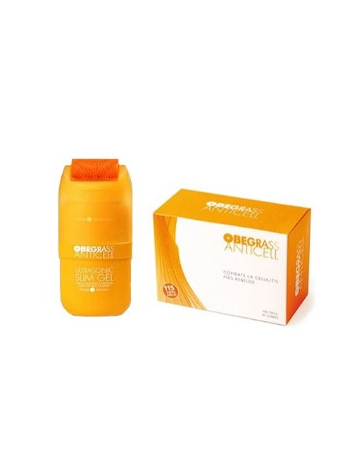 Obegrass Anticell 40 Sobres + Ultrasonic Slim Gel + Obsequio