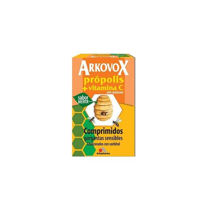 Arkovox 20 Comprimidos Popolis + Vitam C Sabor Miel-Limón