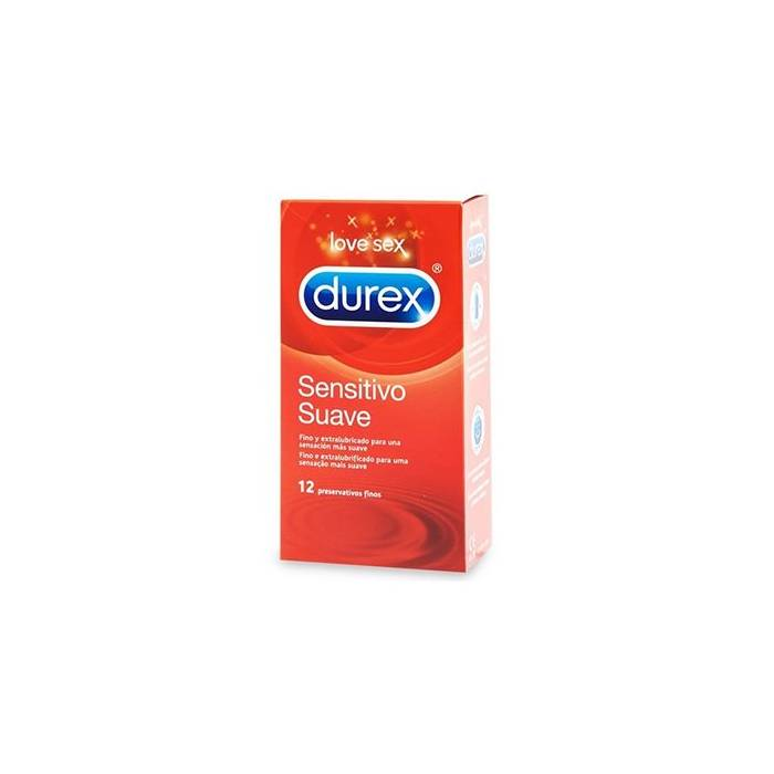 Durex Sensitivo Confort 12 Preservativos
