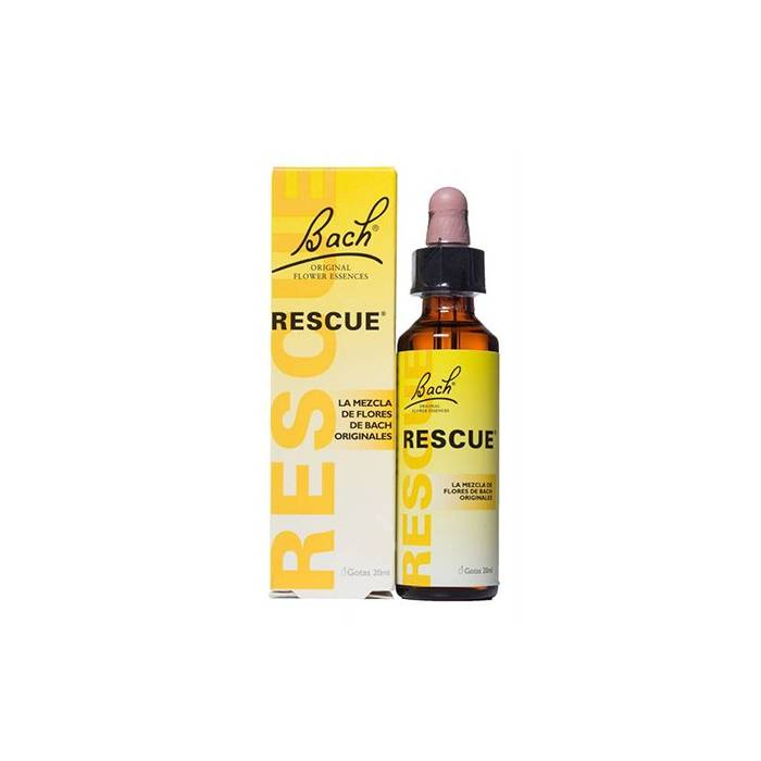 Rescue Remedy 20 ml Remedio Rescate Flores Bach
