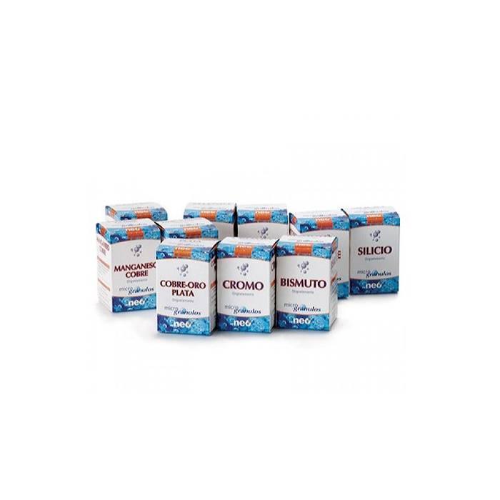 Oligoelementos 50 Cápsulas NEO Manganeso-Cobre, Zinc-Cobre