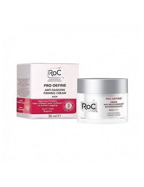 Roc Pro-Define Crema Reafirmante 50 Ml.