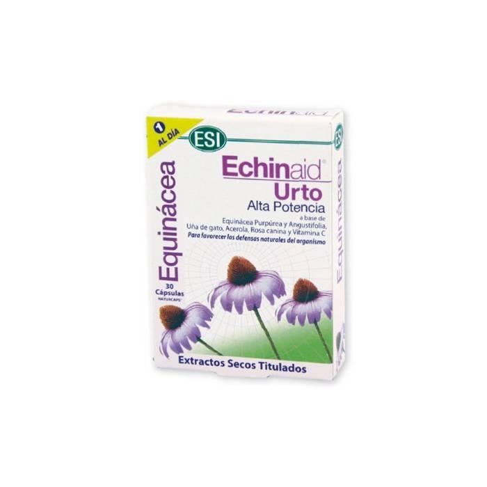 Echinaid Urto Alta potencia 500 mg 30 cápsulas Equinacea