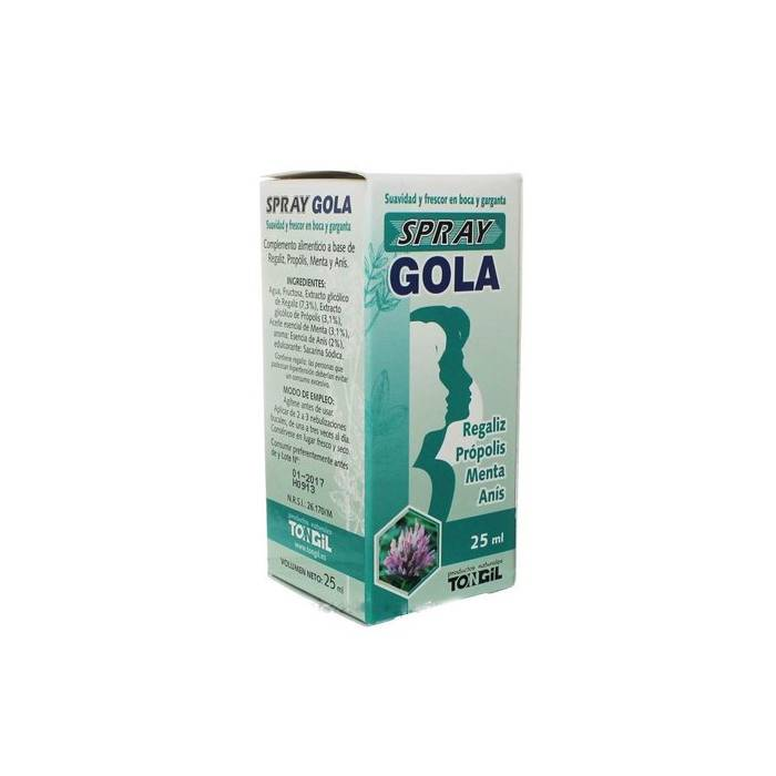 Aligel Gola spray 25 Ml.