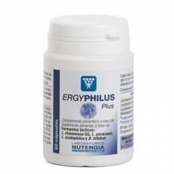 Ergyphilus Plus Probióticos-Defensas 60 cápsulas Nutergia