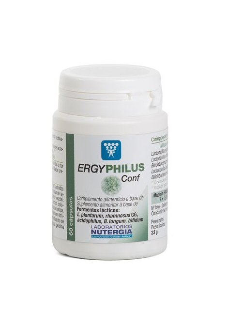 Ergyphilus Conf Vientre plano 60 cápsulas Nutergia