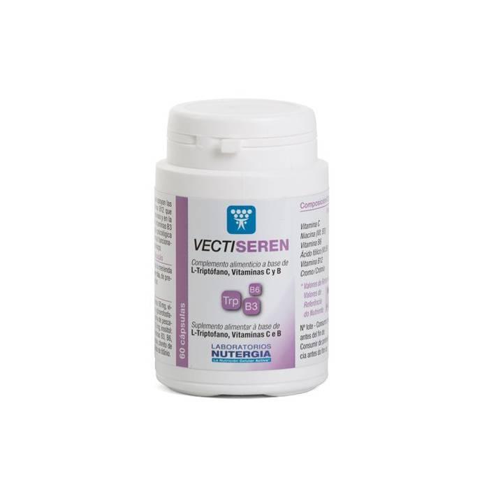 Vecti-Seren Estrés-Ansiedad 60 cápsulas Nutergia