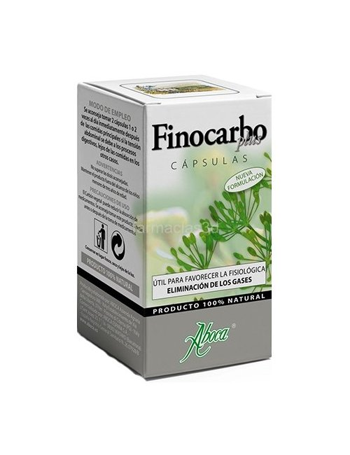 Finocarbo plus Gases 50 cápsulas ABOCA