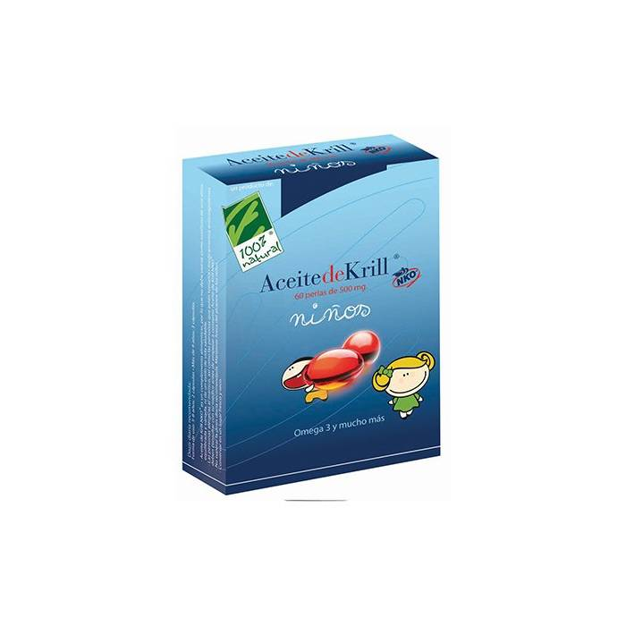 Aceite de Krill NKO Niños 60 perlas 100% Natural