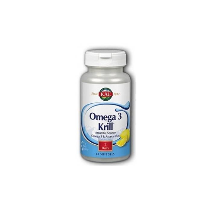 Krill Omega 3 - 500mg 60 perlas KAL