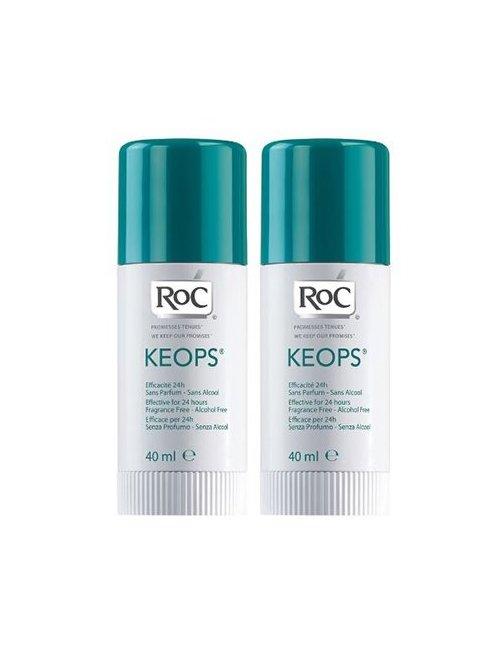 RoC Keops Duplo Desodorante Stick 40 + 40 ml