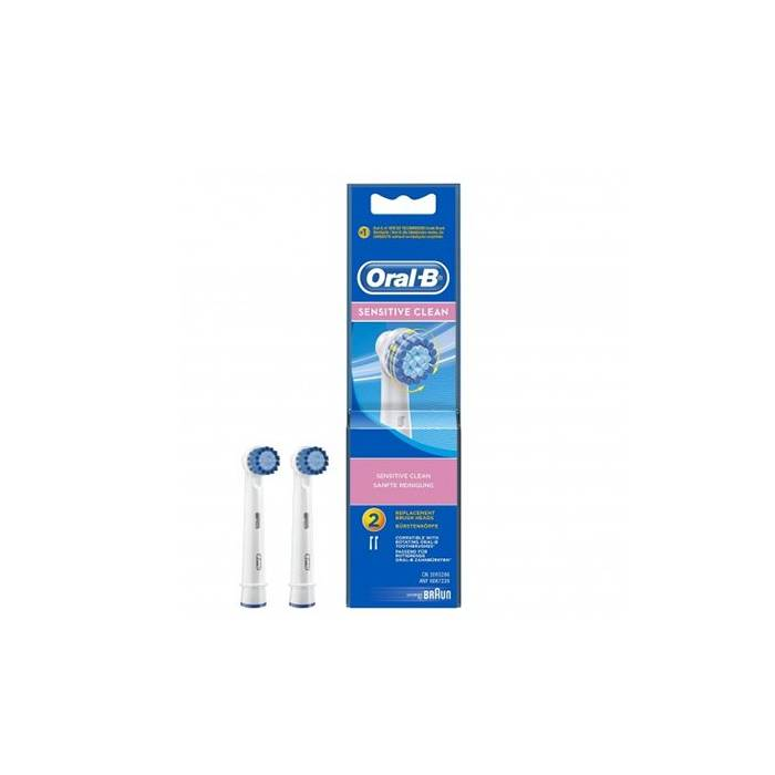 Recambios Cepillo Braun Oral B Sensitive Clean Pack 2