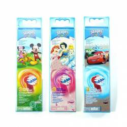 Recambios Cepillo Braun Oral B Niños Pack 2
