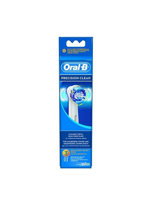 Recambios Cepillo Braun Oral B Precision Clean Pack 3