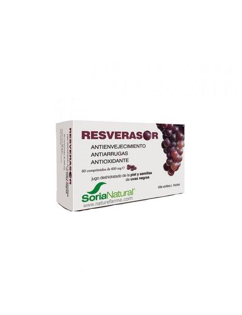 Resverasor 60 comprimidos Soria Natural - Antioxidante
