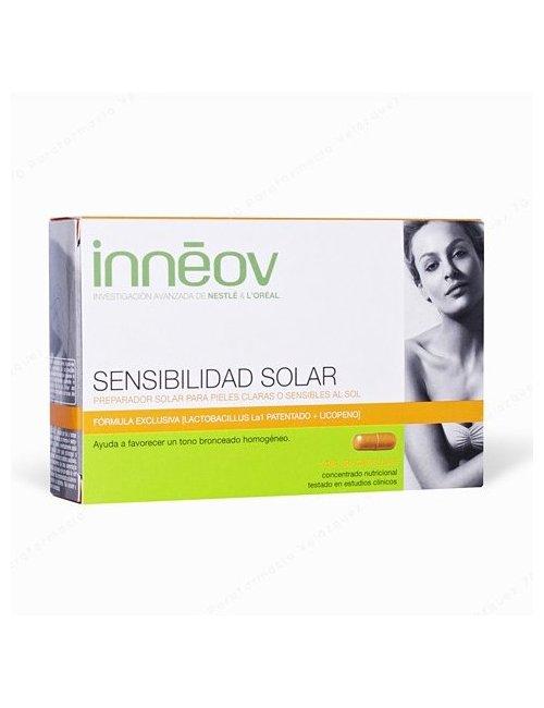 Innéov Sensibilidad Solar Duplo 60 Cápsulas
