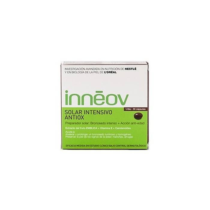 Innéov Solar Bronceado Intensivo Antiox 30 cápsulas