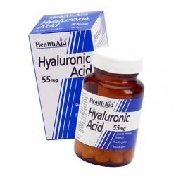 Ácido Hialurónico 55mg Health Aid 30 comprimidos