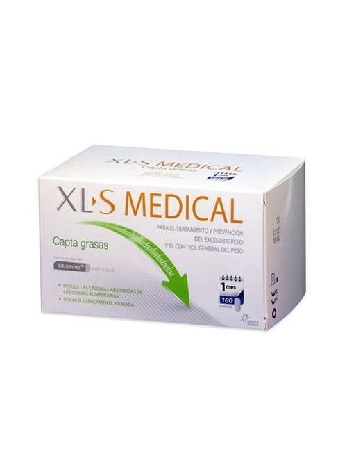 XLS Medical Litramine Grasas, 180 comprimidos + REGALO