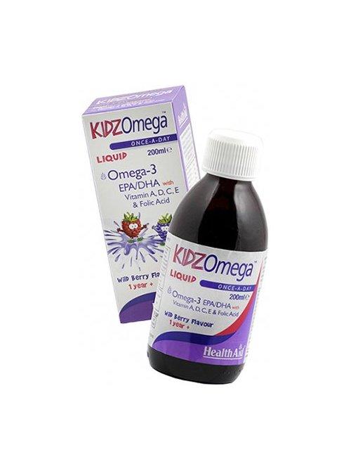 Kidz Omega Líquido 200ml - Health Aid