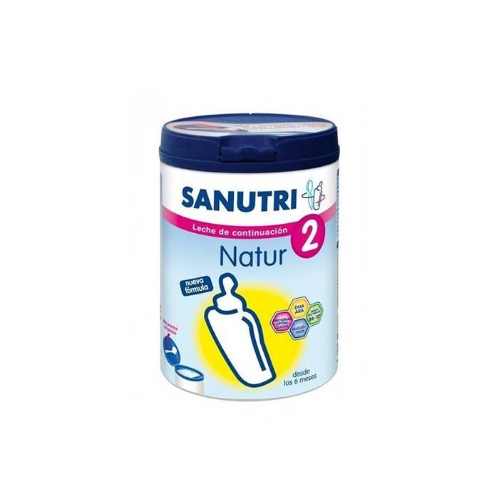 Sanutri Natur 2 800gr. Leche continuación