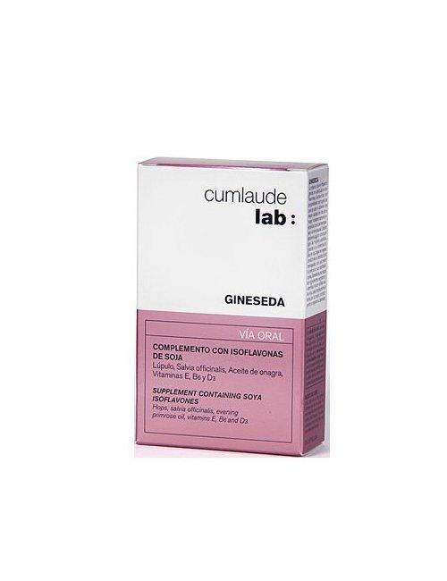 Gineseda Cumlaude 30 cápsulas Isoflavonas Soja