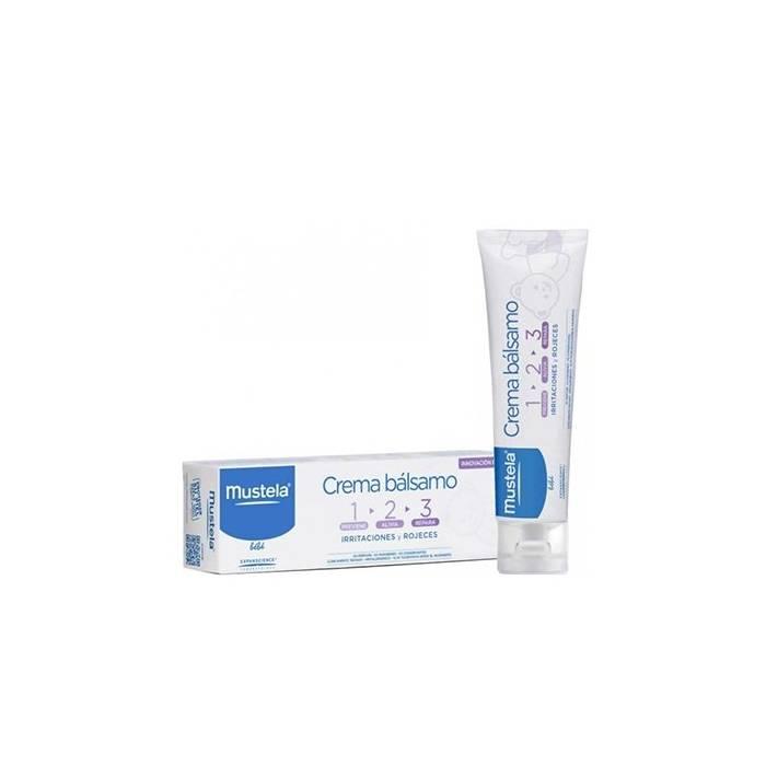 Mustela Crema Balsamo 1-2-3 100 Ml