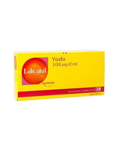 Labcatal Oligoelementos 28 ampollas magnesio, oro, plata, azufre, silicio