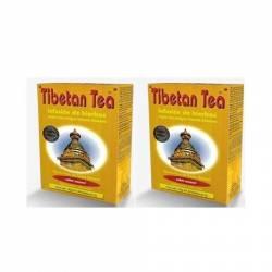 Tibetan Tea Pack 2 unidades 90+90 Menta + Frutas