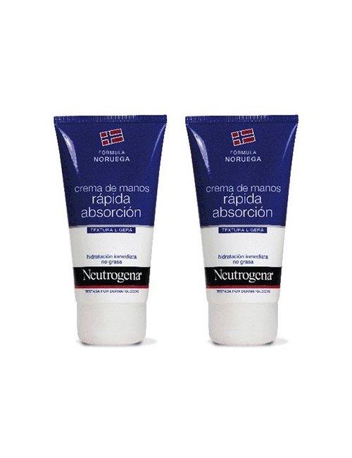Neutrogena OFERTA 2 cremas de manos 75 + 75 Ml.