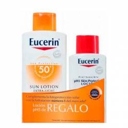 Eucerin Solar Locion Extra Light FPS 50+ 400Ml.