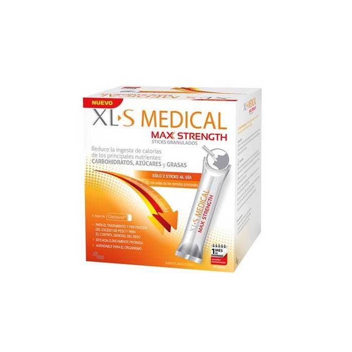Xls Medical Max Strength 60 Sticks